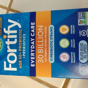 New Sealed Box Of Fortify Probiotic for Sale in Sacramento, CA