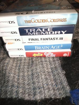 Nintendo DS game containers no games for Sale in Beaverton, OR