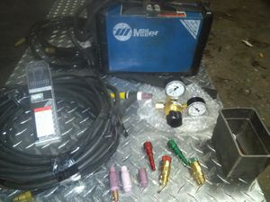 Miller Tig Welder w/ accessories for Sale in Stockton, CA