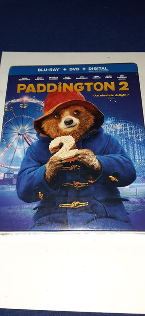 Paddington 2 movie on Blu-ray brand new for Sale in Garland, TX