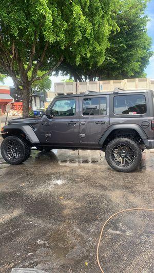 """Tuff 20"""" Jeep Wheels for Sale in Miami, FL"""