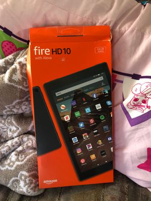Fire HD 10 with Alexa [ 64 GB ] for Sale in Spring Valley, CA