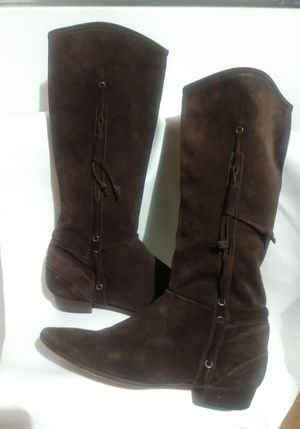 Michael Kors Brown suede leather boots Sz 10 for Sale in Atlanta, GA