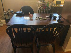 Dining Room Table w Chairs for Sale in Denver, CO