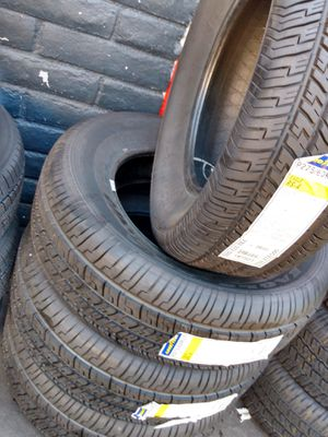 Set of four super Goodyear275 60 18$595 free installation for Sale in Ottumwa, IA