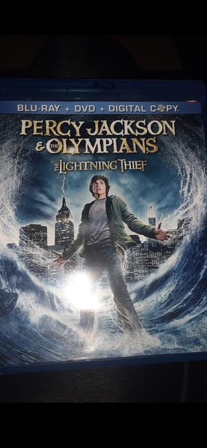 Percy Jackson movies 1 and 2 (Blu-ray and DVD) for Sale in Ontario, CA