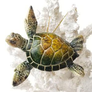 """Brand New! 4 1/4"""" Sea Turtle Ornament - Green for Sale in Miami, FL"""