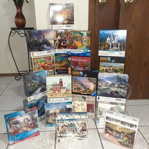 20 complete puzzles for Sale in Harlingen, TX