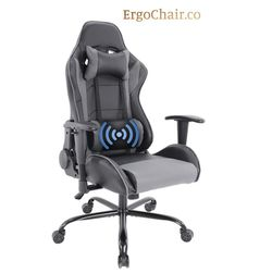 Gorgeous Ergonomic Gaming Computer Chair with Soft Headrest, Massage & Backrest for Sale in Santa Monica,  CA