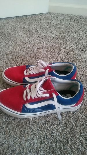 Vans blue and red for Sale in Raleigh, NC