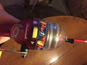 Kids light up iron man fishing rod works great brand new for Sale in Lorain, OH