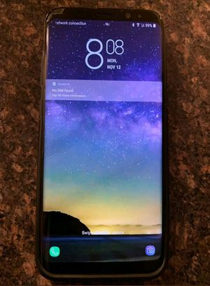 Samsung galaxy S8 unlocked 9/10 for Sale in Silver Spring, MD