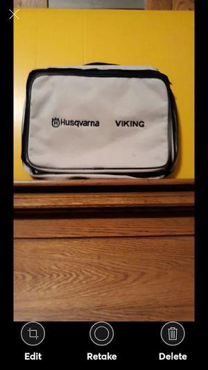 Viking Husqvarna Embroidery Sewing Machine Case Storage Bag for Sale in Lynchburg, VA
