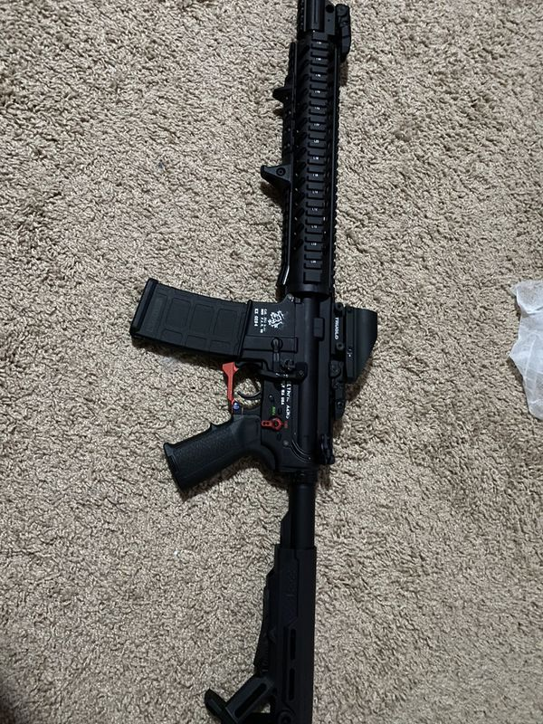 Olympic arms limited edition Ar-15 nerfgun