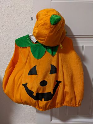 Baby Pumpkin Halloween costume for 0-24m for Sale in Lake Worth, FL