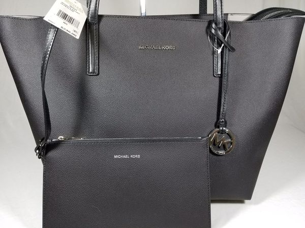 1aa660cbd88d NWT Michael Kors MK Hayley Large Coated Canvas Tote SHOULDER BAG ...
