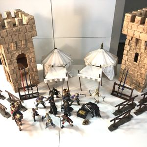 Schleich Papo castle knights for Sale in Pleasant Hill, CA
