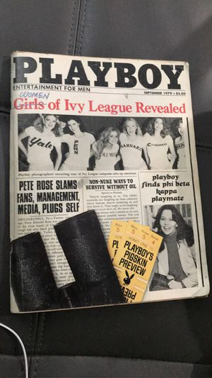 Playboy 1979 women' Ivy League reveled for Sale in Hayward, CA