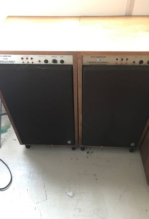 Audio speakers. Call for price for Sale in Riverside, CA