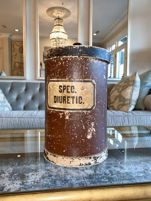 Antique European Apothecary Container for Sale in Alexandria, VA