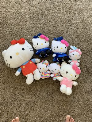 Hello kitty's 7 for Sale in Long Beach, CA