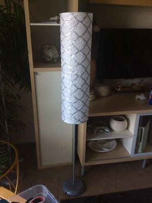 Rice paper lantern floor lamp for Sale in Washington Township, NJ