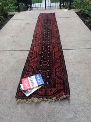 Sarouk style oriental runner rug for Sale in Chicago, IL