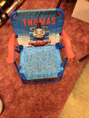 Thomas the Train kids folding Lawn chair for Sale in Titusville, PA