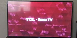 TCL•Roku 4K TV for Sale in Texarkana, TX