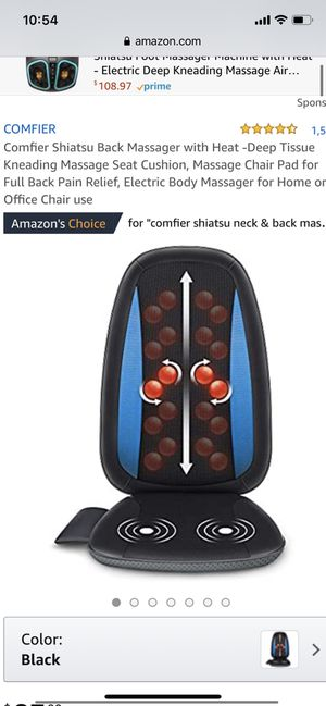 Massager back and neck ( like new) used once for Sale in Ronkonkoma, NY