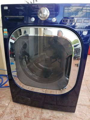 LG BLUE STEAM WASHER SUPERCAPACITY for Sale in Hialeah, FL