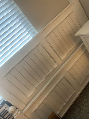 Queen side bed plus nightstand and dresser chest for Sale in Santa Cruz, CA