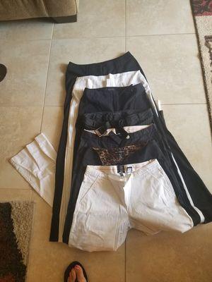 Wide leg dress pants size 4 top pair is size 2 for Sale in Wesley Chapel, FL