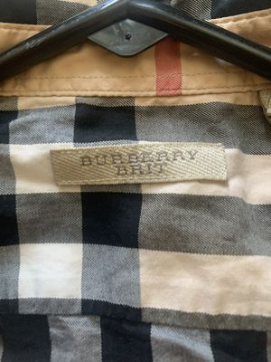 Classic Burberry long sleeve button up for Sale in Philadelphia, PA