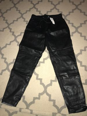 HM leather XS leather pants for Sale in Richardson, TX