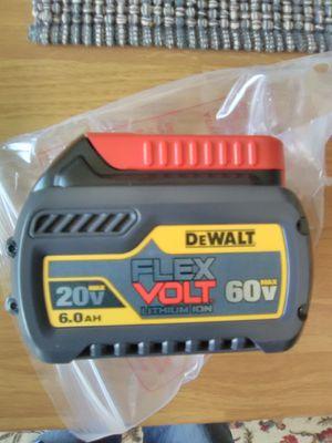 Dewalt Flexvolt 20v/60v 6.0ah Battery New for Sale in San Diego, CA