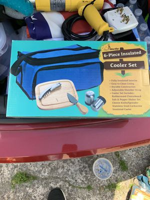 Six piece cooler set for Sale in Pawtucket, RI