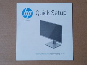HP Monitor (Opened) for Sale in Cedar Hill, TX
