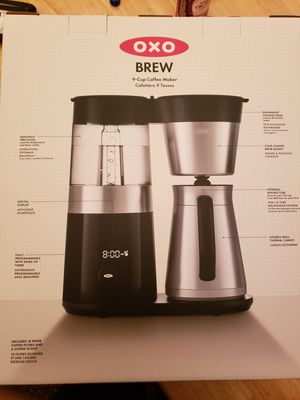 OXO Brew 9 cup coffee maker model #8710100 for Sale in Portland, OR