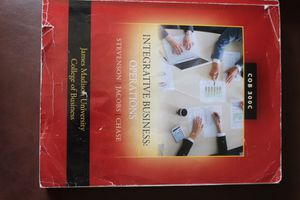 Integrative Business: Operations (COB 300C) for Sale in Harrisonburg, VA