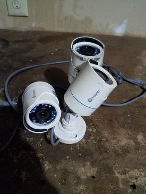 3 swann security cameras $25 ea for Sale in Columbus, OH