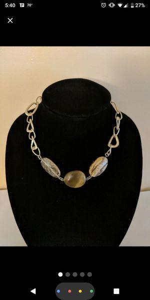 Lia Sophia Tiger Eye Quartz Necklace for Sale in Mifflinburg, PA