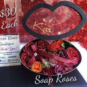 ❤️ Perfect Valentines Day Gift 🎁. ROSE BEARS, SOAP ROSES, LED ROSES 🌹. 👇🏻 👇🏻 Please Read 👇🏻👇🏻 for Sale in South Gate, CA
