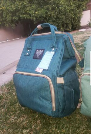 Teal large diaper bag for Sale in Bell Gardens, CA