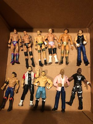 wwe - wwf Action figures Chris Jericho Randy Orton for Sale in Rancho Cordova, CA