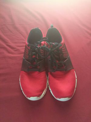 Red Reebok shoes size 10.5 for Sale in Kansas City, MO