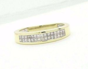 14K Gold Diamond Wedding Band Anniversary Ring Unisex .45ct G si3 #32456B for Sale in Lawrence, NY