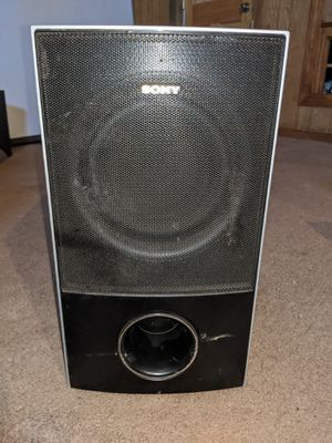 SONY SS-WS72 PASSIVE SUBWOOFER for Sale in Fresno, CA