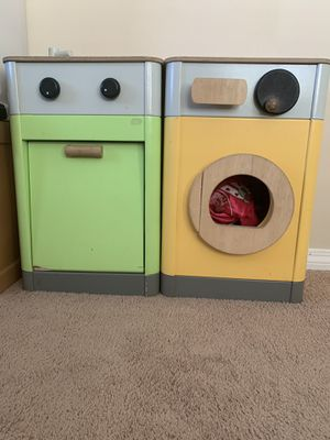 Pretend Play: Sink & Washer/Dryer. $45 for both for Sale in Claremont, CA
