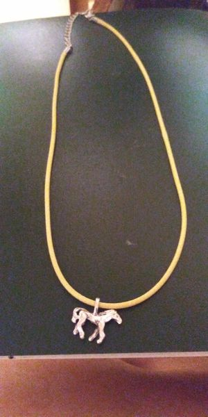 """New! 18"""" horse necklace for Sale in Brainerd, MN"""